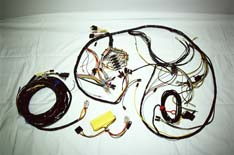 Photo of a Wombat Custom wiring  harness.