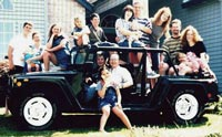 Keith's Extended Family on His Hummbug