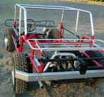 Rear Bumper, Tire Carrier, Top Frame, Body Sub-Frame