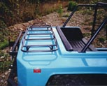 Photo of optional Rear Deck Luggage Rack